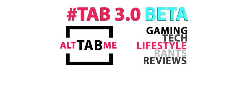 TAB 3.0 BETA!