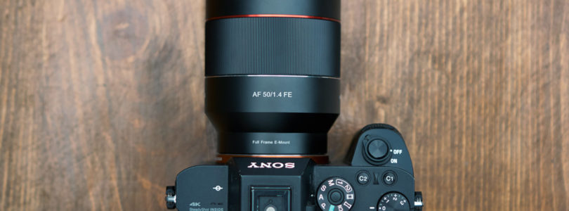 The Rokinon(Samyang) 35mm 1.4 AF for Sony FE mounts: Too good to be true? Turns out it was.