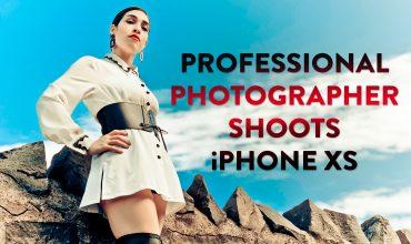 Professional Photographer Shoots iPhone XS