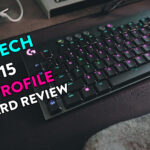 Logitech G815 Low Profile Keyboard Review w/ ASMR!