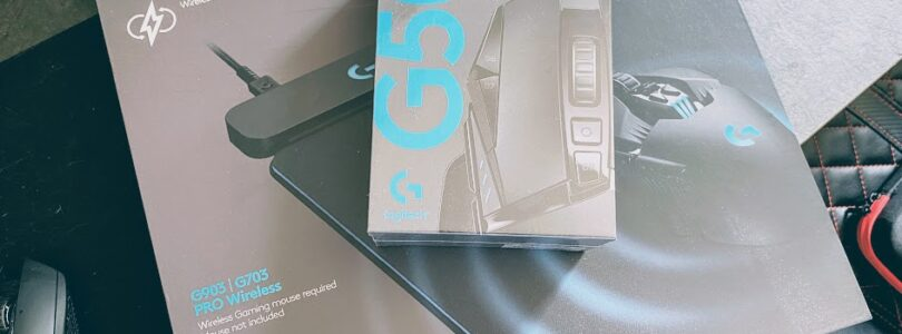 The BEST Wireless mouse on the market! Logitech G502 Lightspeed with Powerplay mat